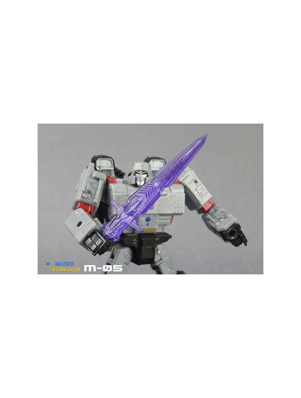 Matrix Workshop M-05 Sword Kit For Transformation Siege Voyage Megatron